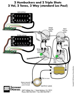 Wiring Diagrams Seymour Duncan  http:www