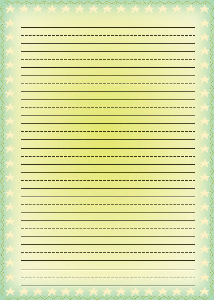 Free Printable Stationery For Kids Free Lined Kids
