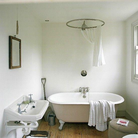 Free Standing Bath Shower Rail Clearance Arcade Royal