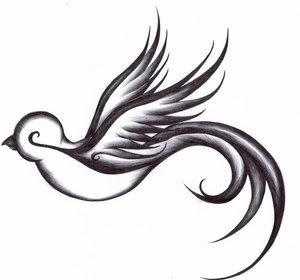 I do like the idea of a bird for a tatoo