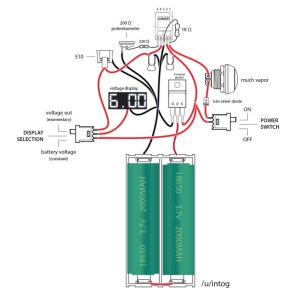 OKRRaptor 10A box mod diagram | Vape | Pinterest | Shops