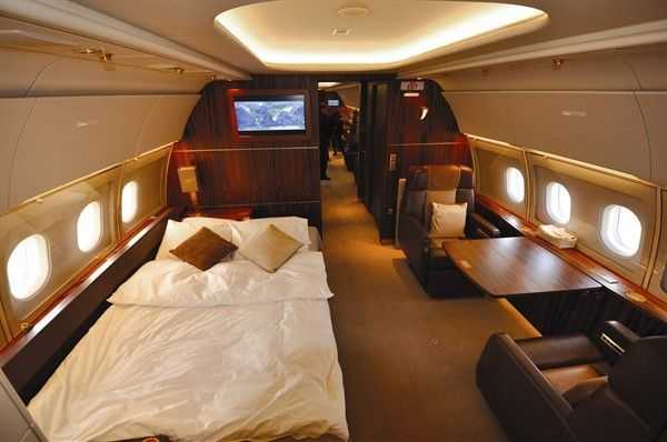 20 Private Plane Interiors Nicer Than Your House Private