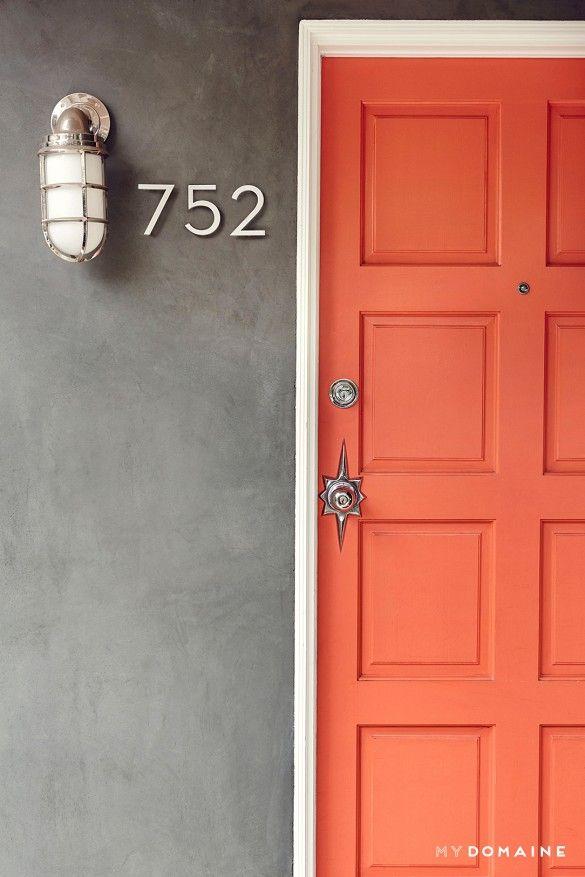 Best 25 Coral Door Ideas On Pinterest Navy Front Doors Coral Front Doors And Coral Color Decor