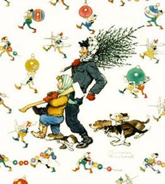 98 Best Images About Norman Rockwell Christmas On