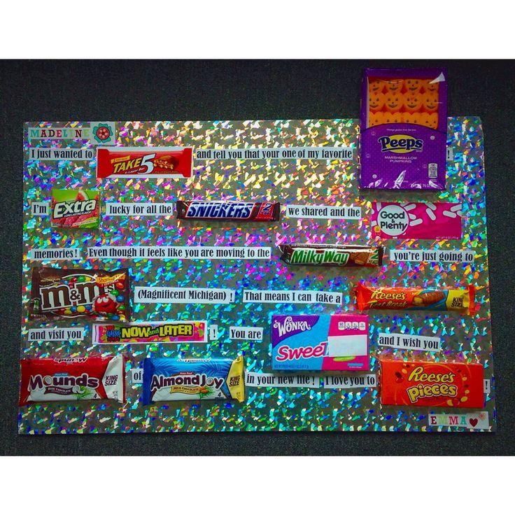 Goodbye Candy Card Ideasdiy Pinterest Candy Cards