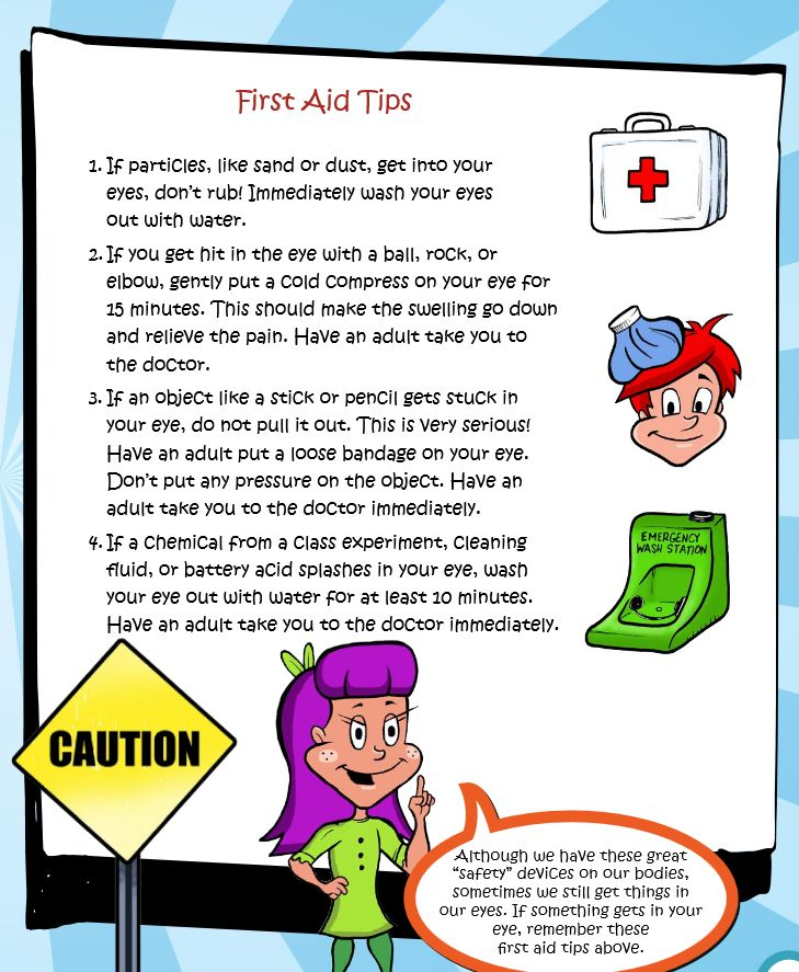 It's Children's Eye Health and Safety Month! Share these