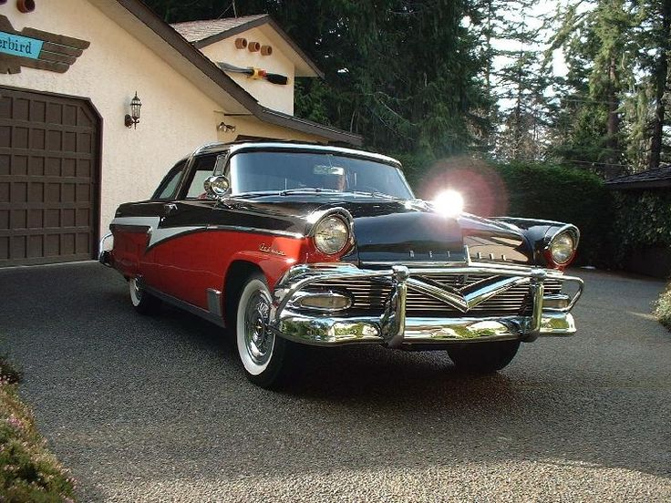1956 Ford Meteor Crown Victoria Cars of the '40s & '50s