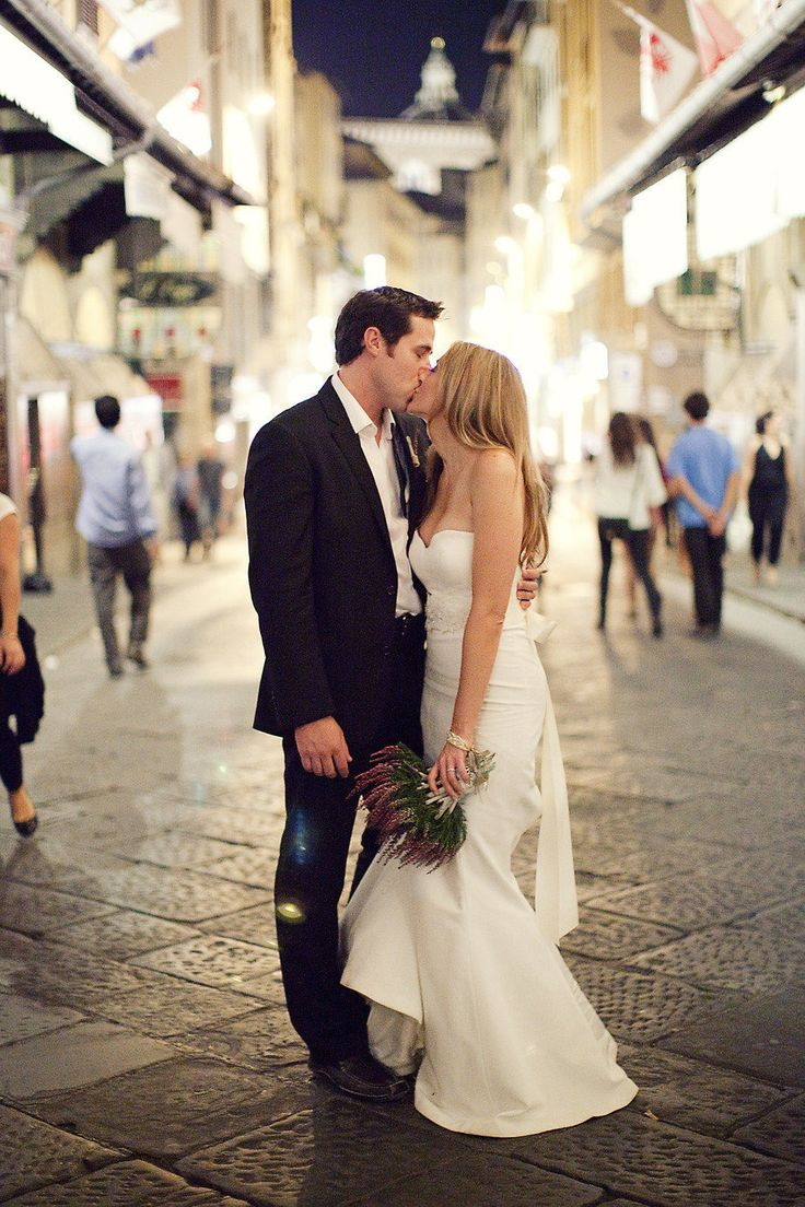Italian Elopement in Florence by Sarah Kate, Photographer