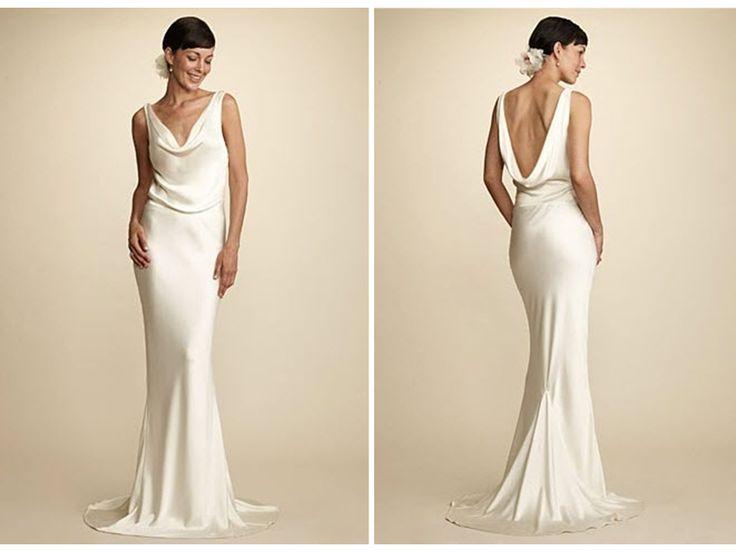 25+ Best Ideas About Cowl Wedding Dress On Pinterest