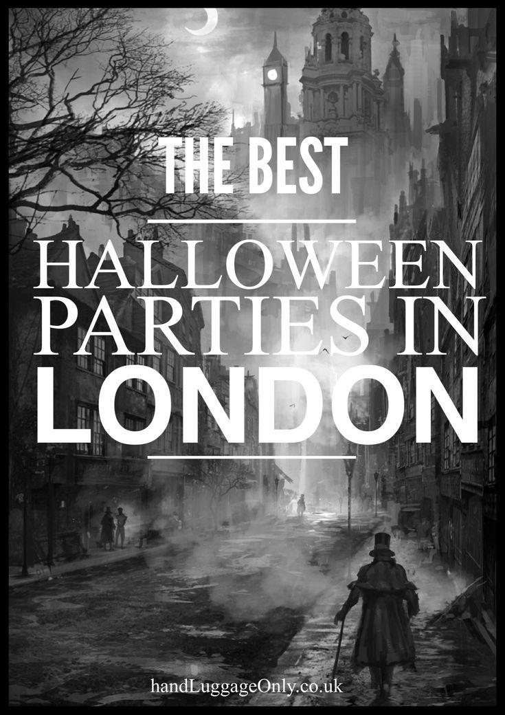 7 MustVisit Spooktacular Halloween Parties In London
