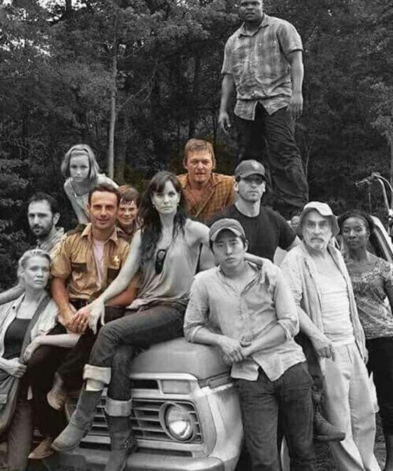 Members Dead Cast Walking Zombie