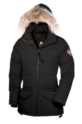 Canada Goose Outlet Solaris Parka Women Black On Sale – $310