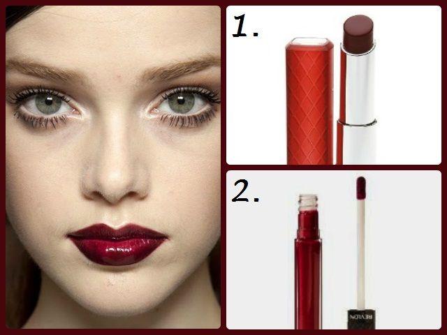 Best Oxblood Lipsticks Sheer Wine Red Lipglosses B E