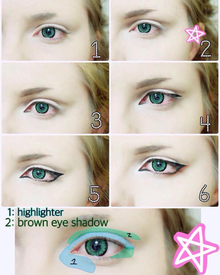 Anime Eye Makeup Male Makeupview Co