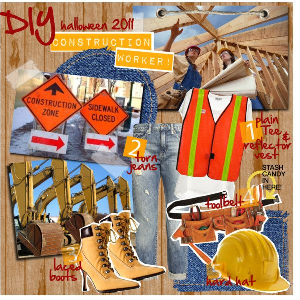 Quot Construction Worker Halloween Costume Quot By