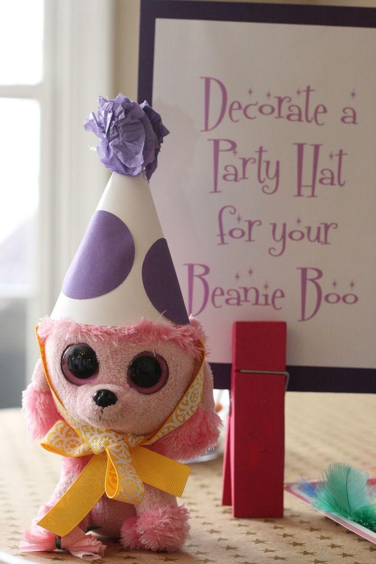 10 Best Ideas About Josies Beanie Boo Tea Party Birthday On Pinterest Beanie Boo Party