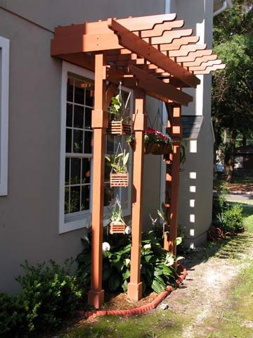Pergolas Orchids And Shades On Pinterest