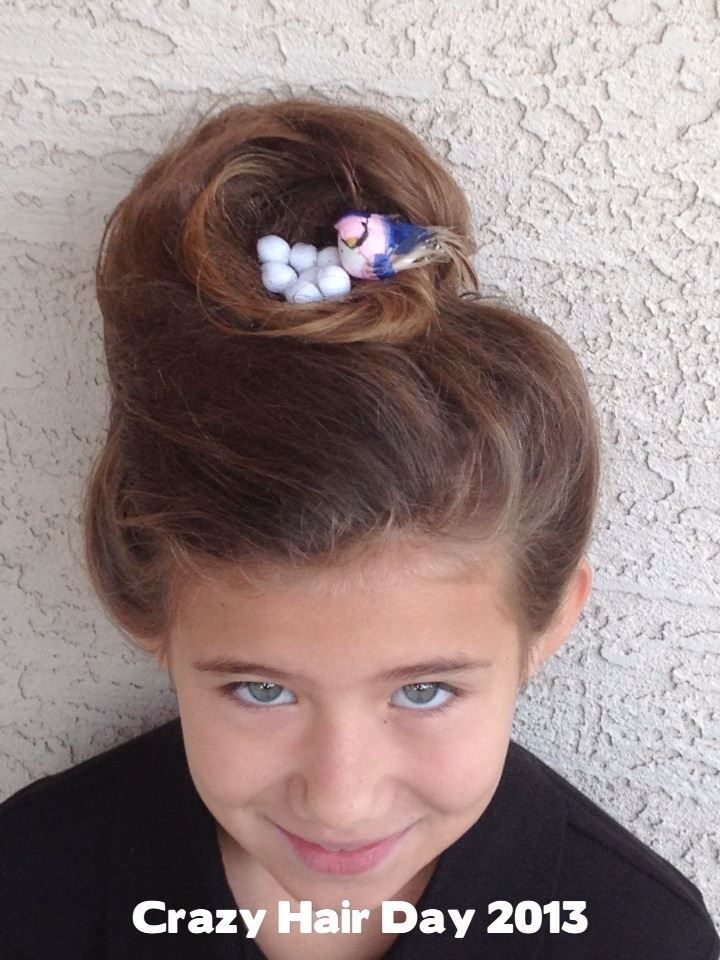 Crazy Hair 2013 Birds Nest French Roll Hairstyles And