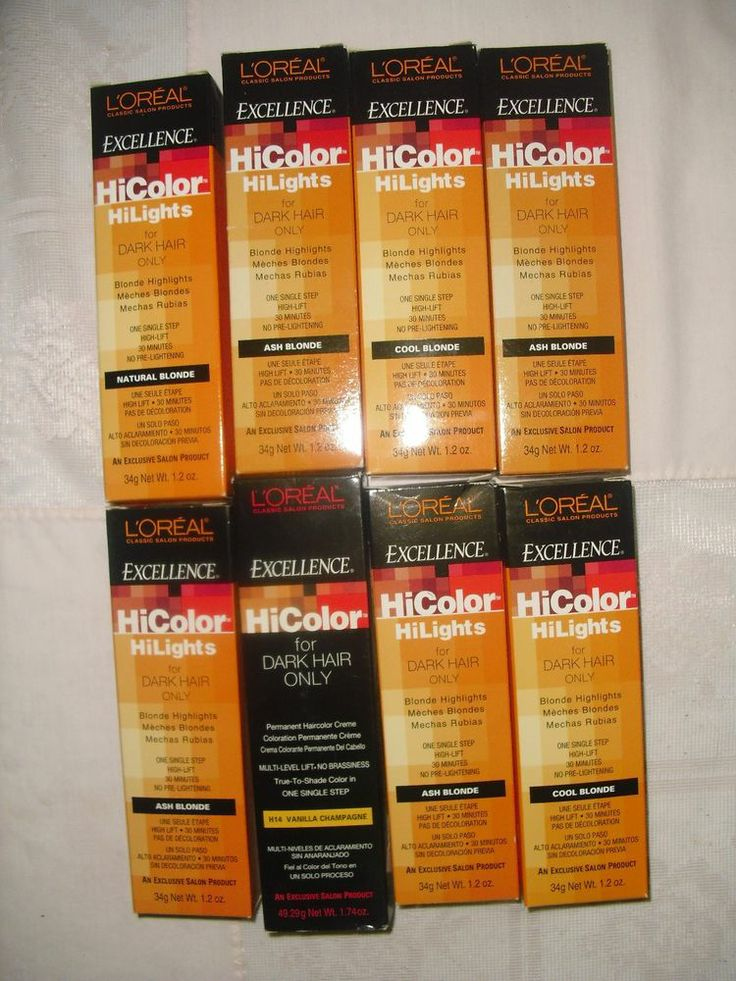 Loreal Hicolor Highlights Blonde For Dark Hair Hairstly