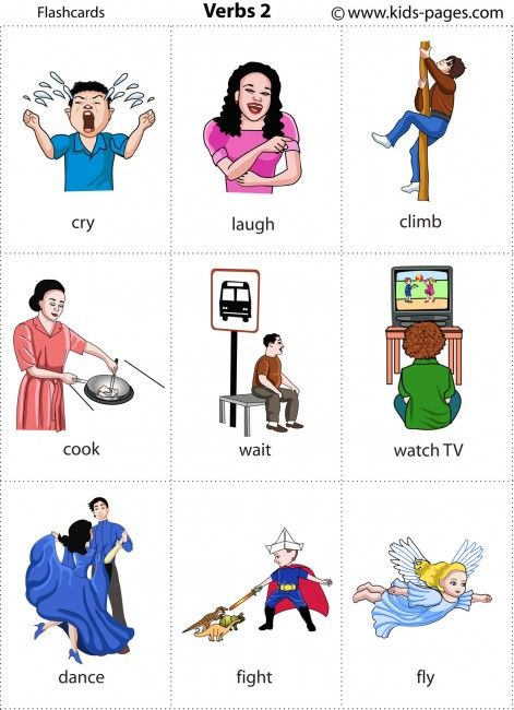 flashcard kids and action on pinterest