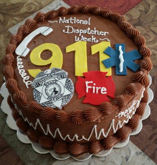 National Dispatcher Week Cake My Creative Cakes That I