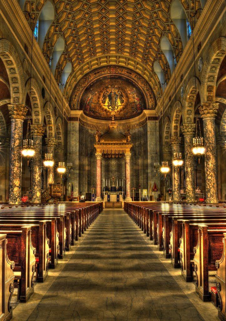 Immanuel Conception Church Waterbury Basilica Of The