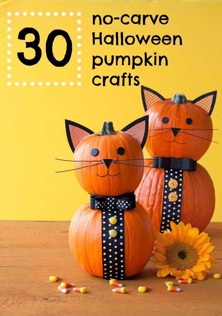36 Easy Halloween Pumpkin Ideas Crafts, Other and