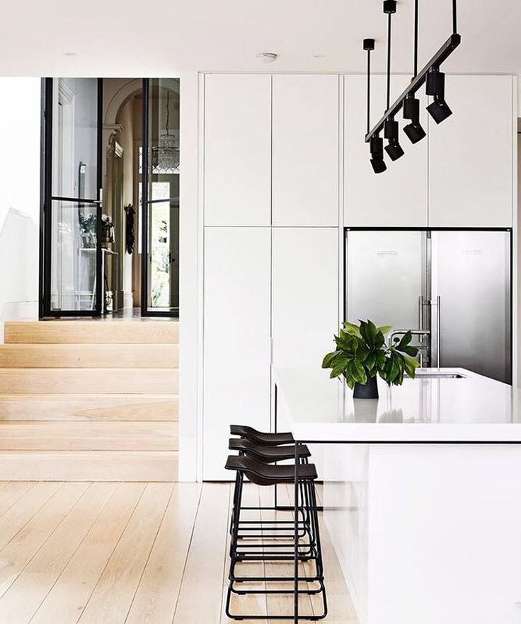Best 25 Modern White Kitchens Ideas Only On Pinterest