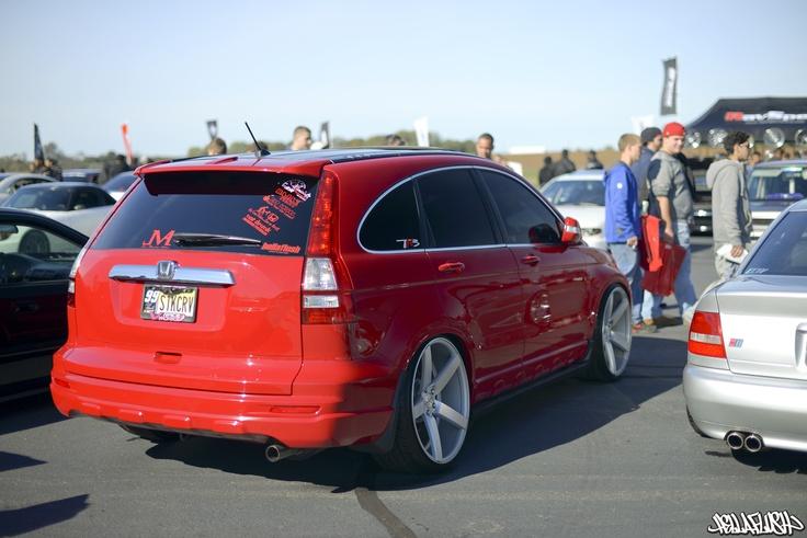 A Stanced CRV... Huh? Petrolhead Pinterest Honda