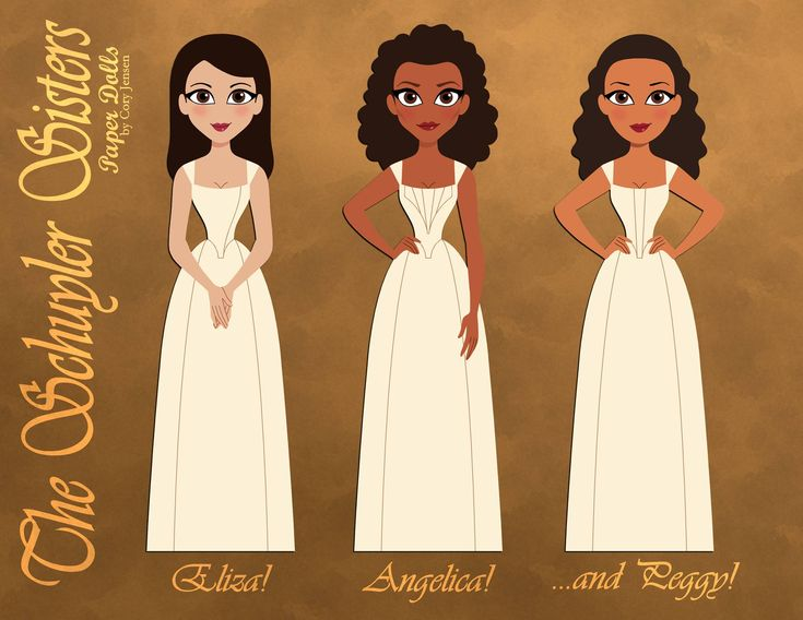 Hamiltons Schuyler Sisters 1 Of 5 By Cory Jensen