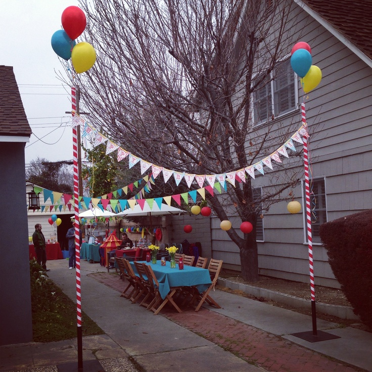 Circus kids party Kids Birthday Party's Pinterest