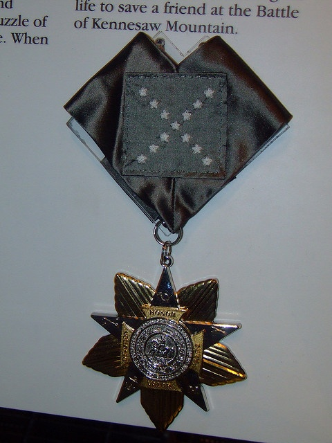 Confederate Medal of Honor by peachy92, via Flickr War