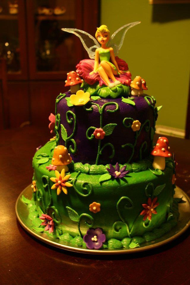 17 Best Images About Tinkerbell Cakes On Pinterest