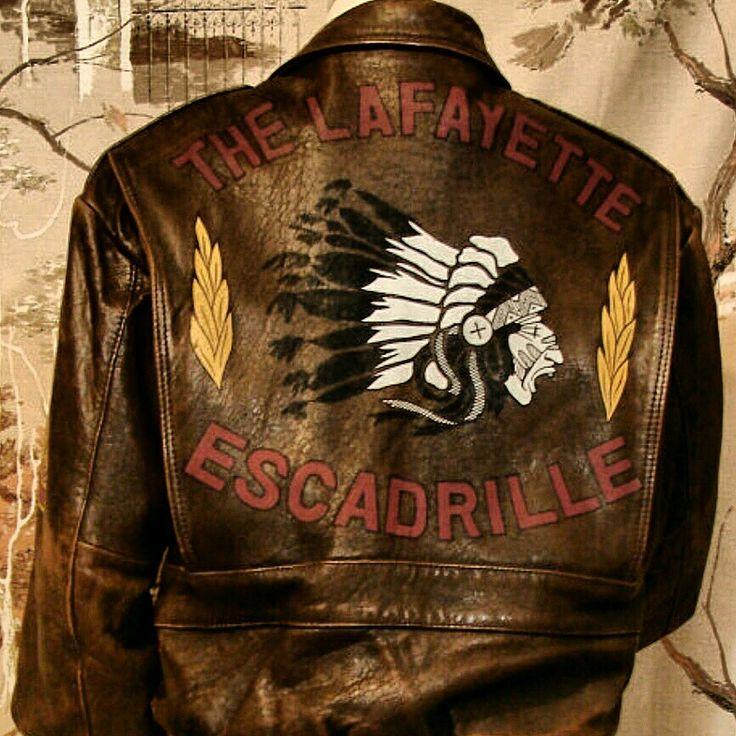 The Lafayette Escadrille WW1 replica jacket. American