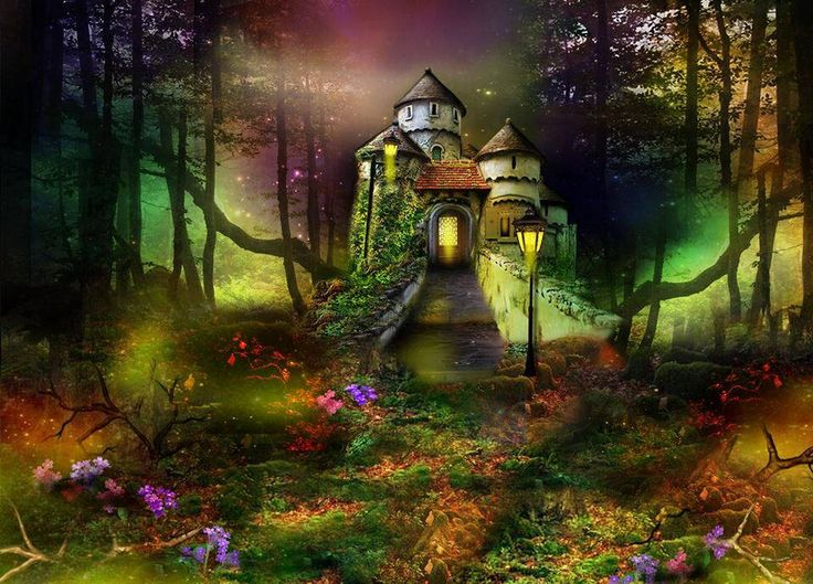 Enchanted Castle Art Pinterest Castles