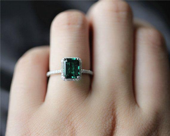 Best 25 Emerald Rings Ideas On Pinterest Emerald