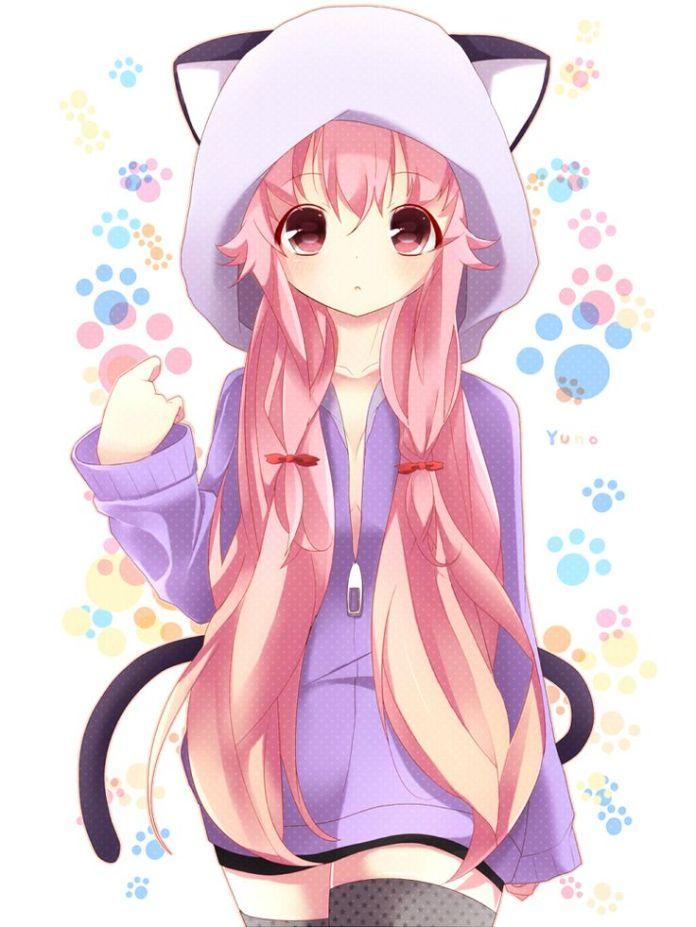 Yuno kawai // Mirai Nikki  Mirai Nikki  Pinterest  Mirai nikki, Anime and Girls