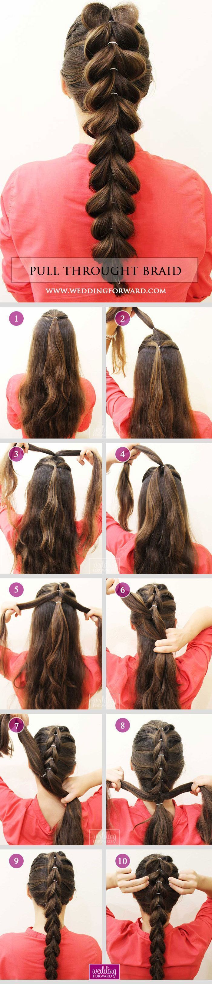 25 Best Ideas About Braided Wedding Hair On Pinterest