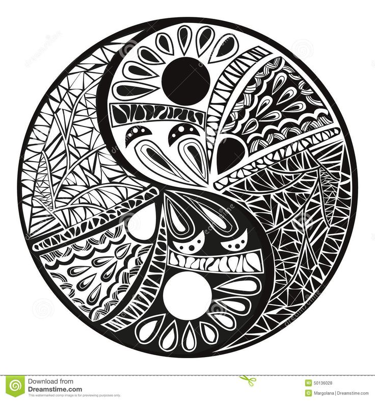 well mandala yin yang tattoo designs on indian symbols coloring pages