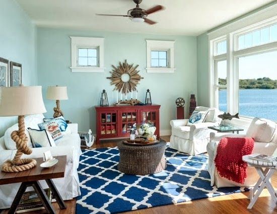 17 Best Ideas About Nautical Living Rooms On Pinterest