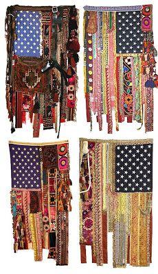 Gypsy American Flag