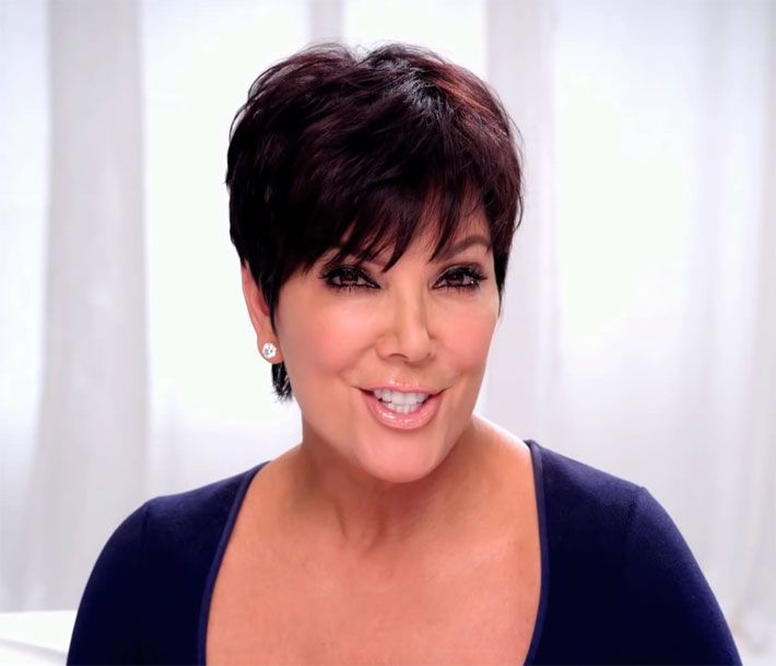 1000 Ideas About Kris Jenner Hairstyles On Pinterest