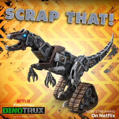 the dinotrux and scraptors are going head to head in scraptors