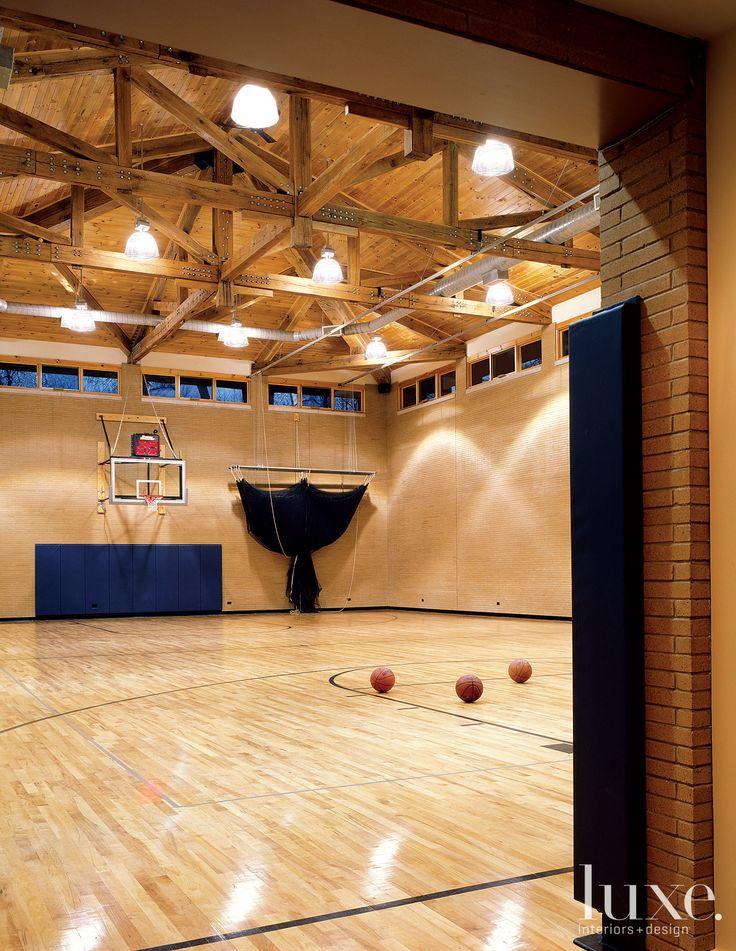 Indoor basketball court [Home] Misc × Interior Room