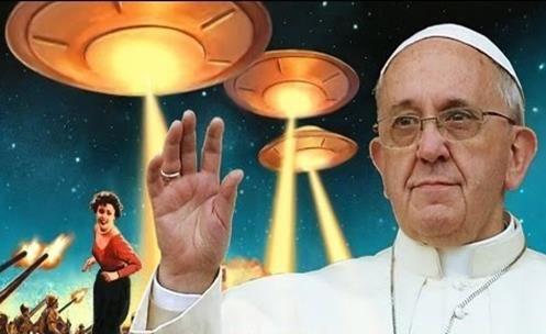 Vaticano: Astrônomos Acreditam em Extraterrestres? Papa - Em 35 dias o Mundo vai Mudar para sempre, Não estamos sozinhos: