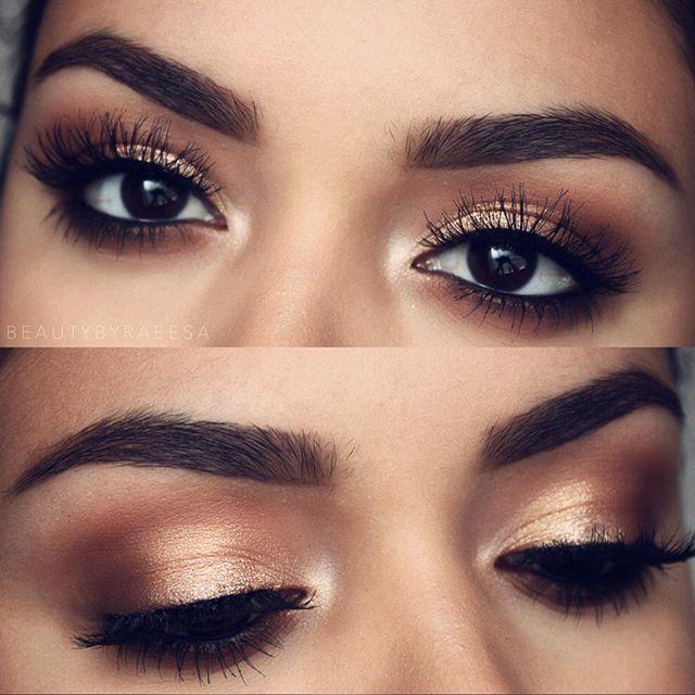Rose Gold Makeup Looks Mugeek Vidalondon