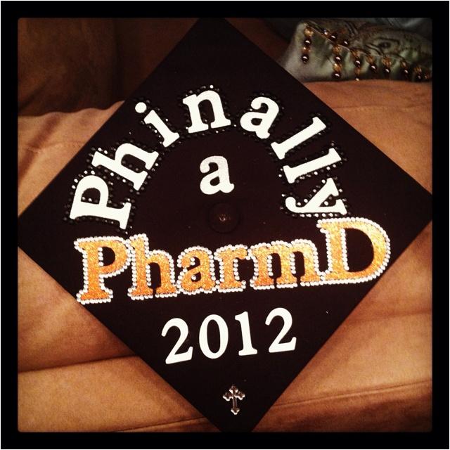Pharmacy graduation cap Graduation Cap Decorations