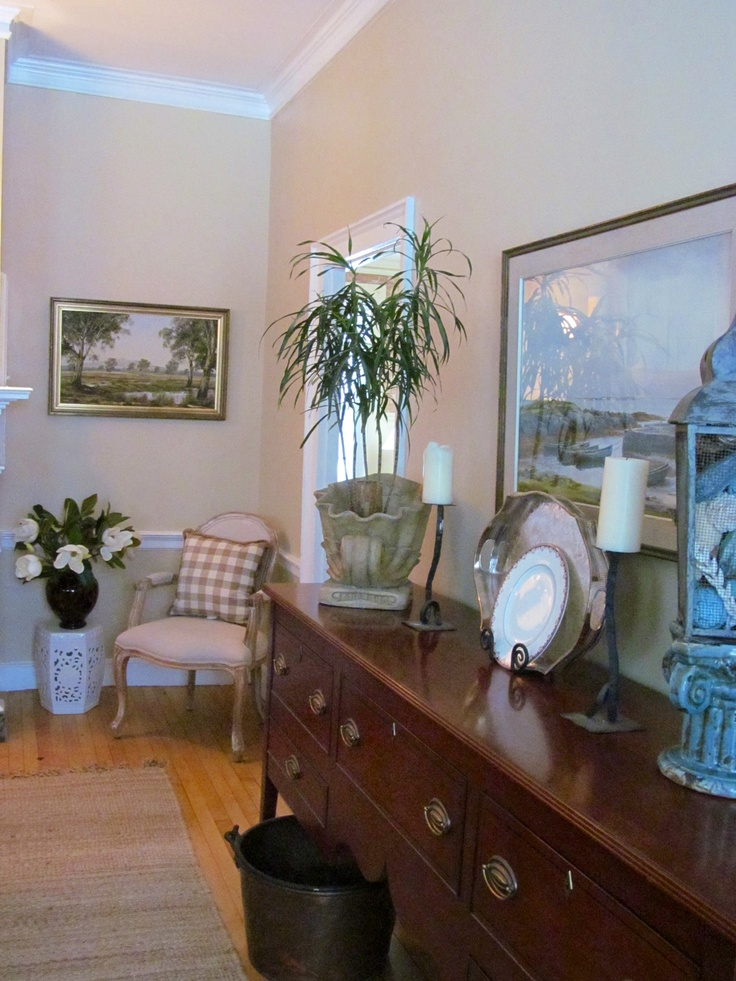 Monroe Bisque Dining Room Pinterest