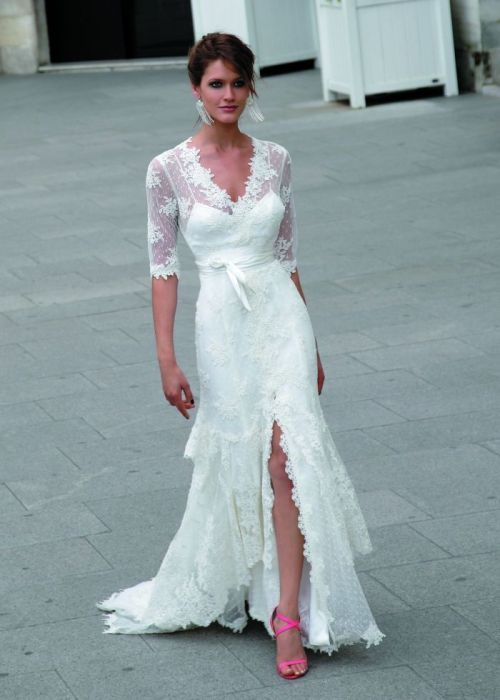 Wedding dresses for the bride over 40 for Wedding dresses for over 40