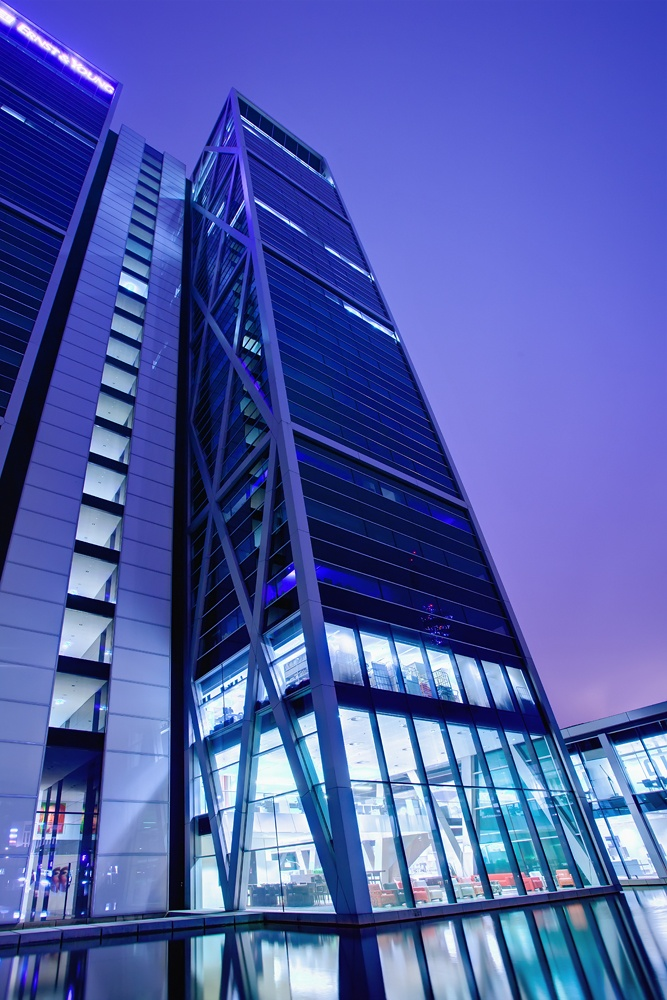 The main office of Ernst & Young is housed in the Cross